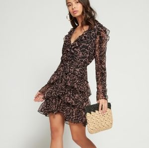 Bardot Alessia Frill Minidress size Small-6